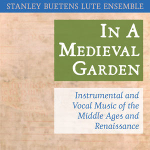 In A Medieval Garden CD cover