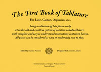 The First Book of Tablature