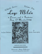 Luys Milán - Six Pavans & Three Fantasies