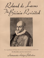 Lassus: Bicinium Revisited, Vol. 1